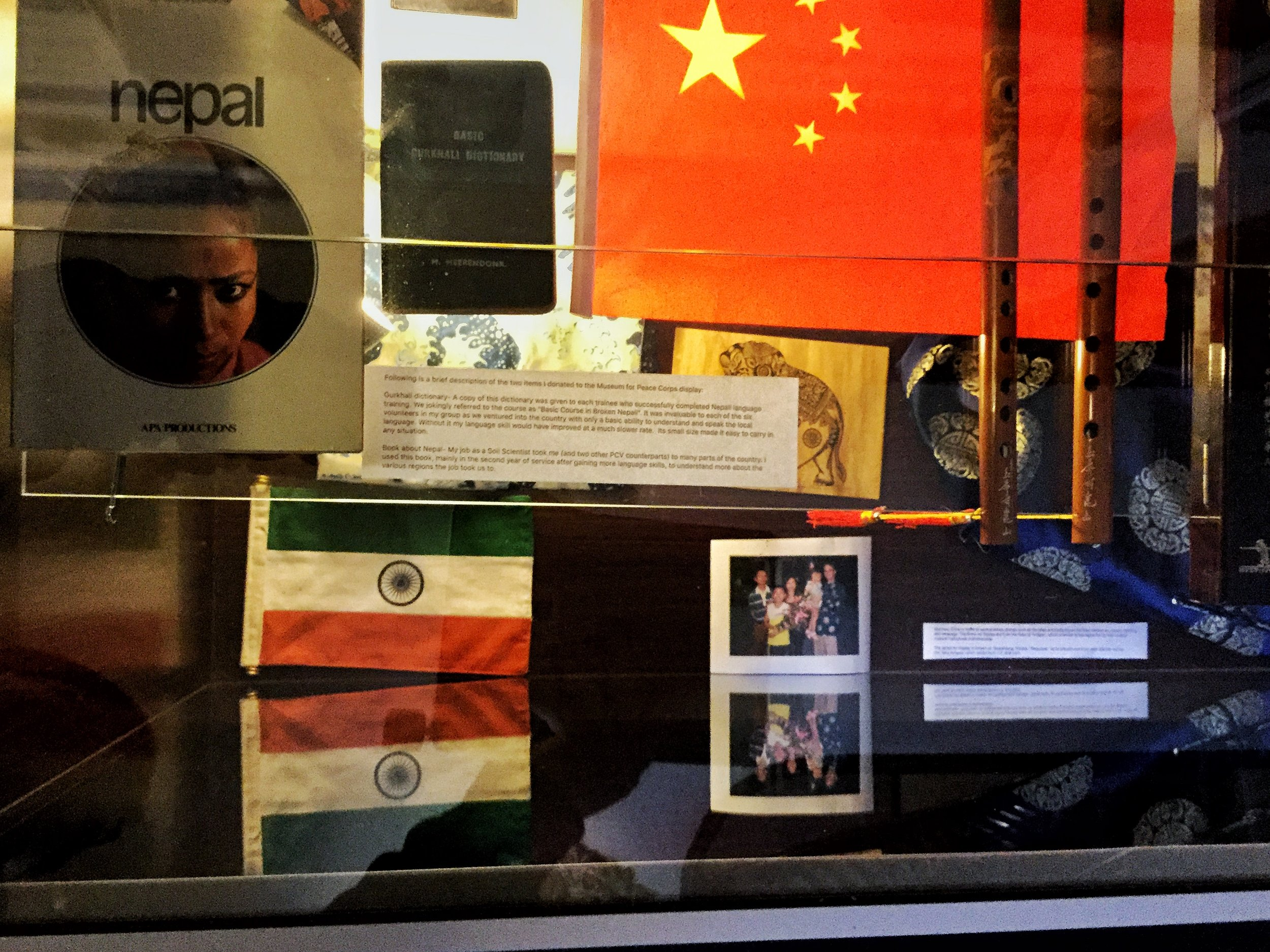 Members of the Dayton SORVOS-a group of returned Peace Corps volunteers have let the Museum borrow some of the treasures they collected on their two year adventure overseas. The collection will be on view through the summer.