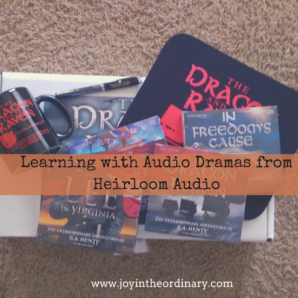 Audio dramas from Heirloom Audio Productions