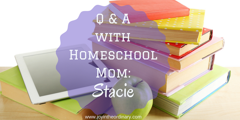 Interview with African American Homeschool Mom Stacie from No Idle Bread