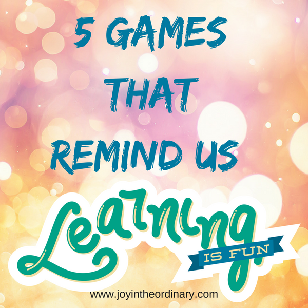 5 games that keep learning fun