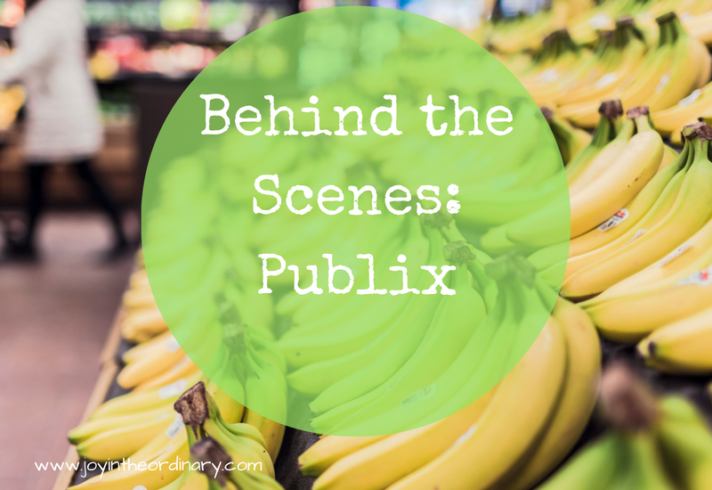 Behind the scenes tour of Publix grocery store