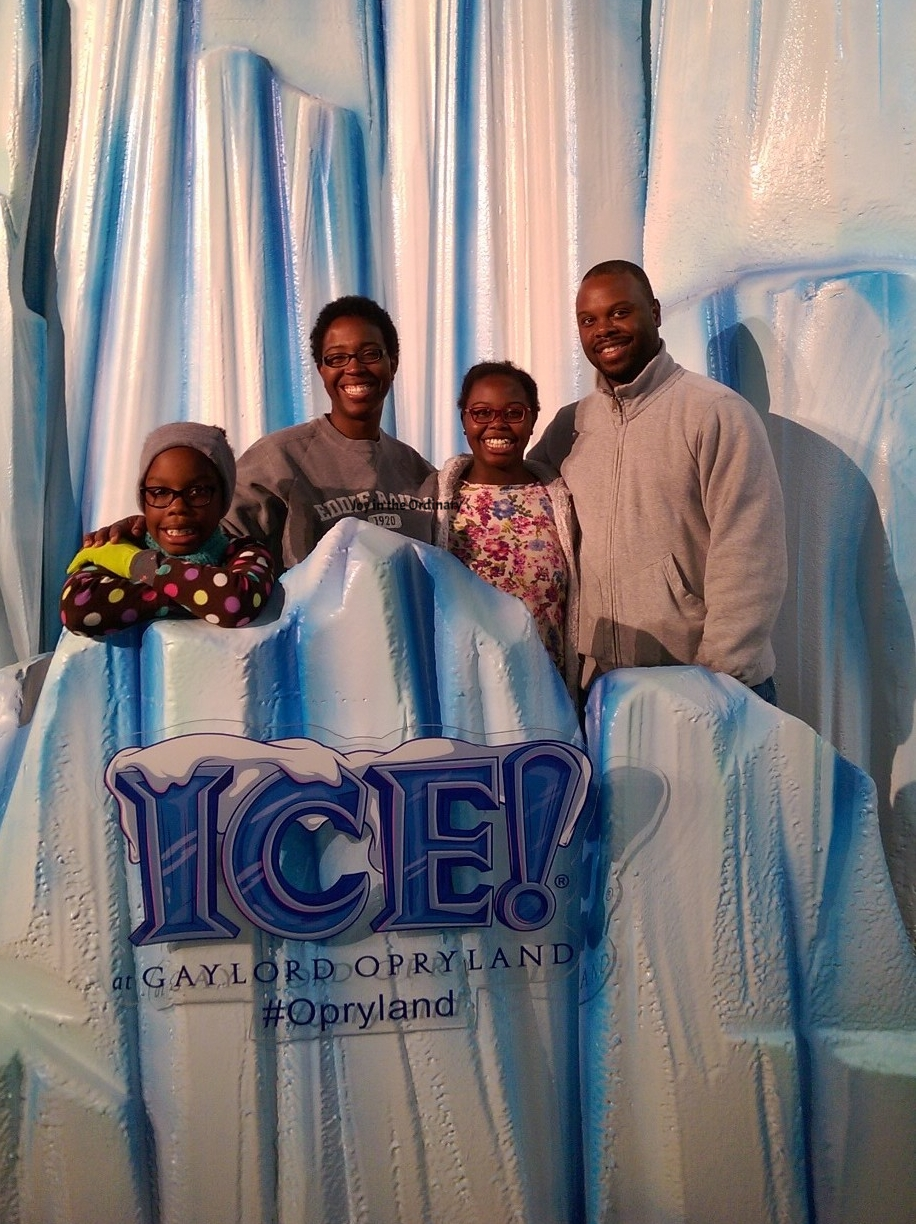 Our family of four at ICE! Nashville 2016