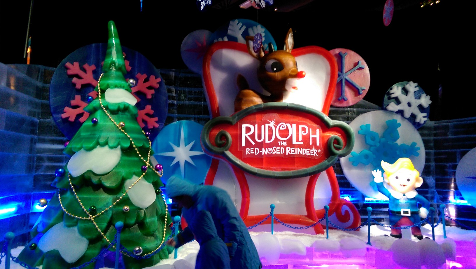 Rudolph the Red-Nosed Reindeer at ICE!