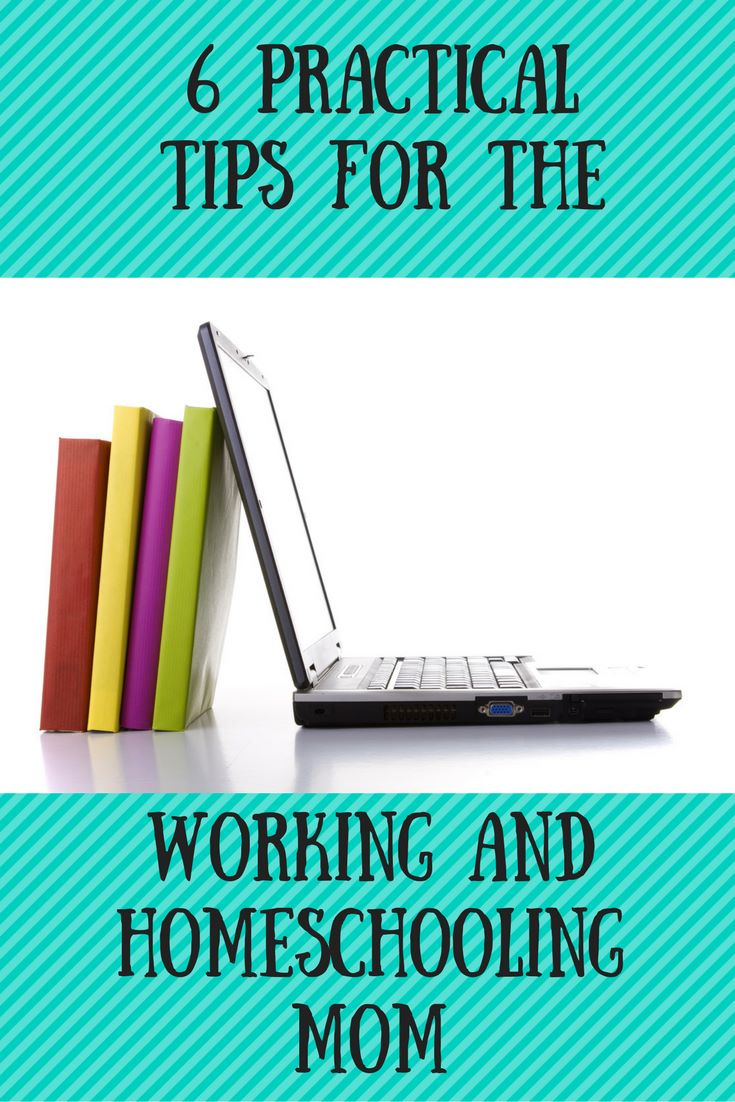 6 tips for working and homeschooling