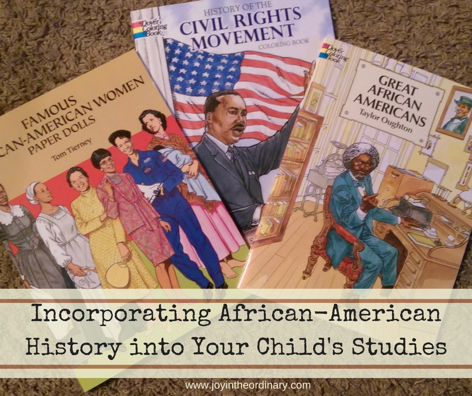 studying African American history at home