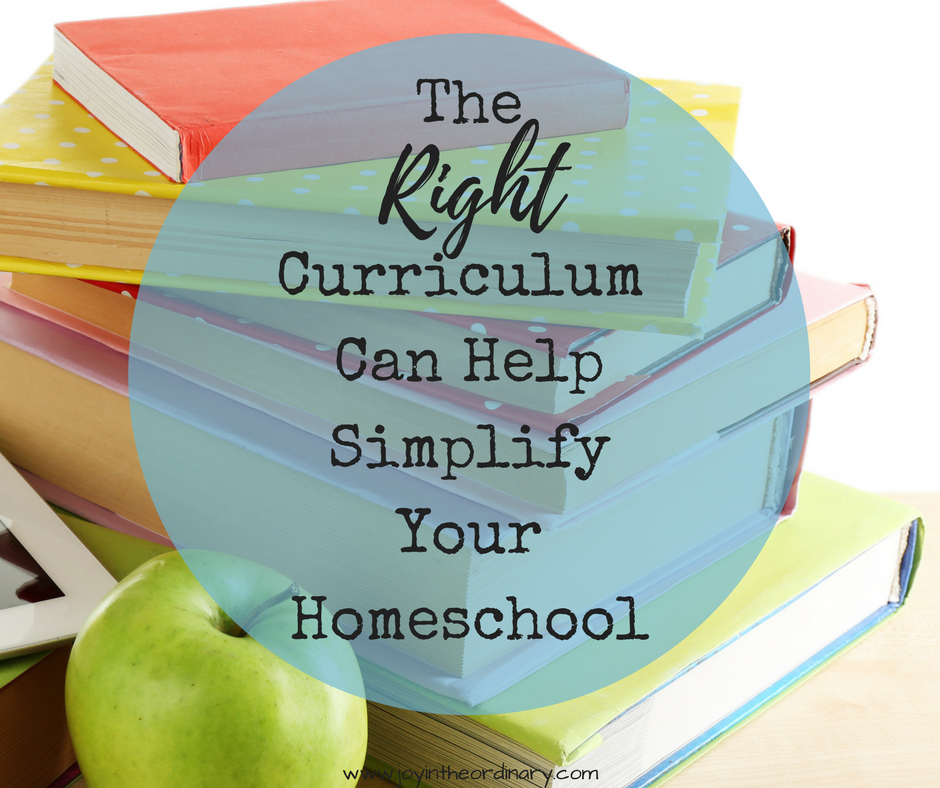 Curriculum can help your homeschool