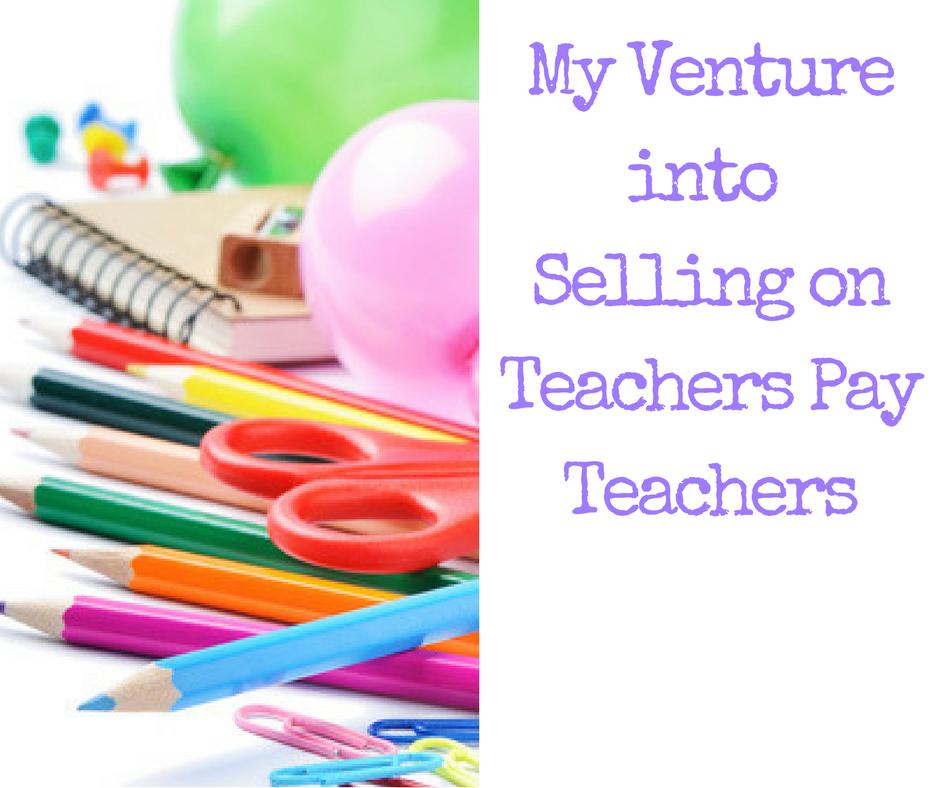 Selling on teachers pay teachers