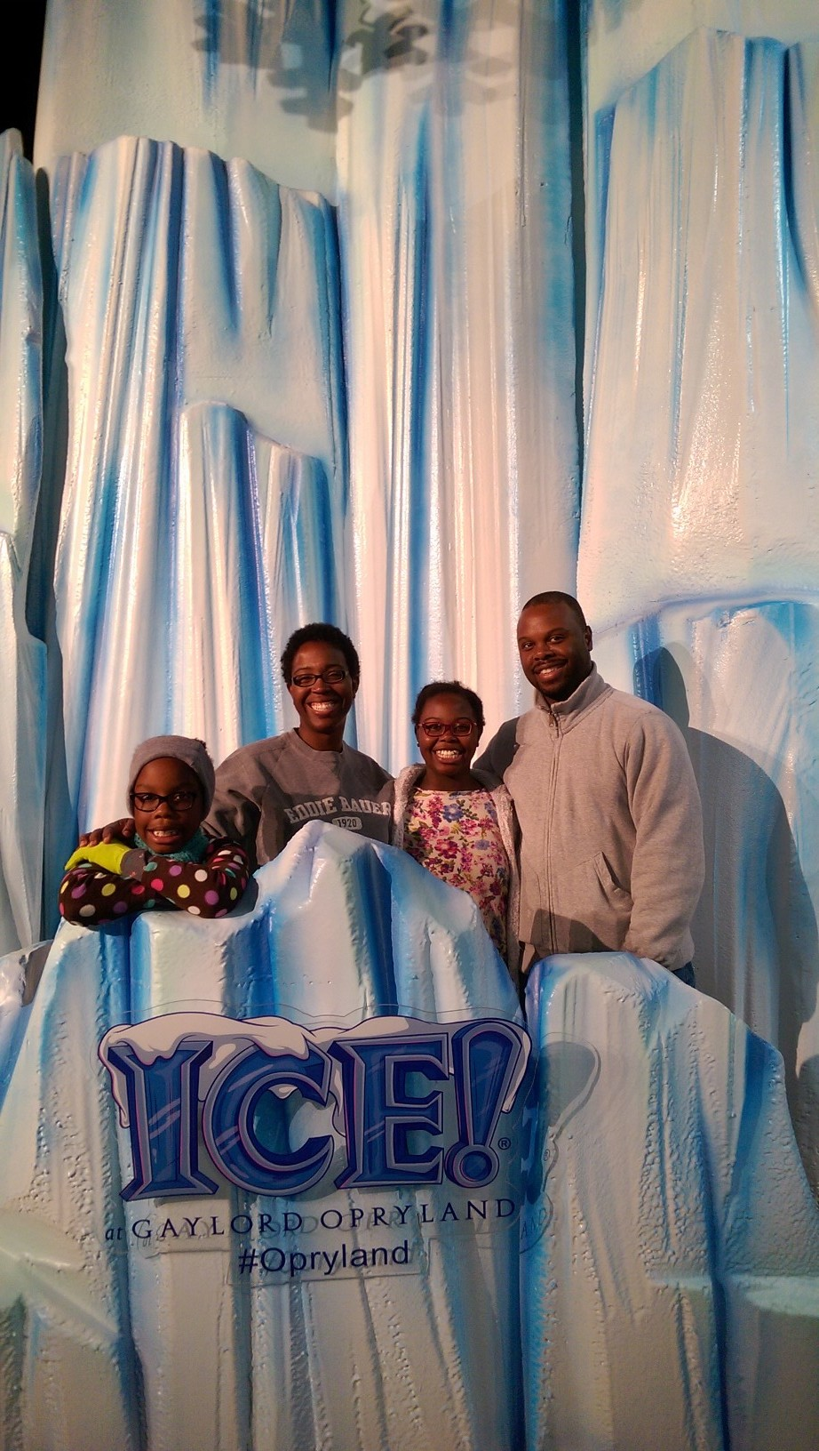 Our family at ICE!