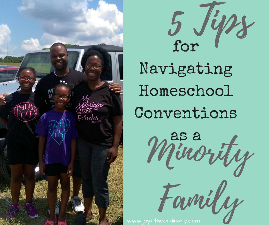 Our African-American Family Attends Homeschool Conventions