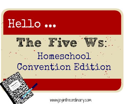 homeschool convention questions