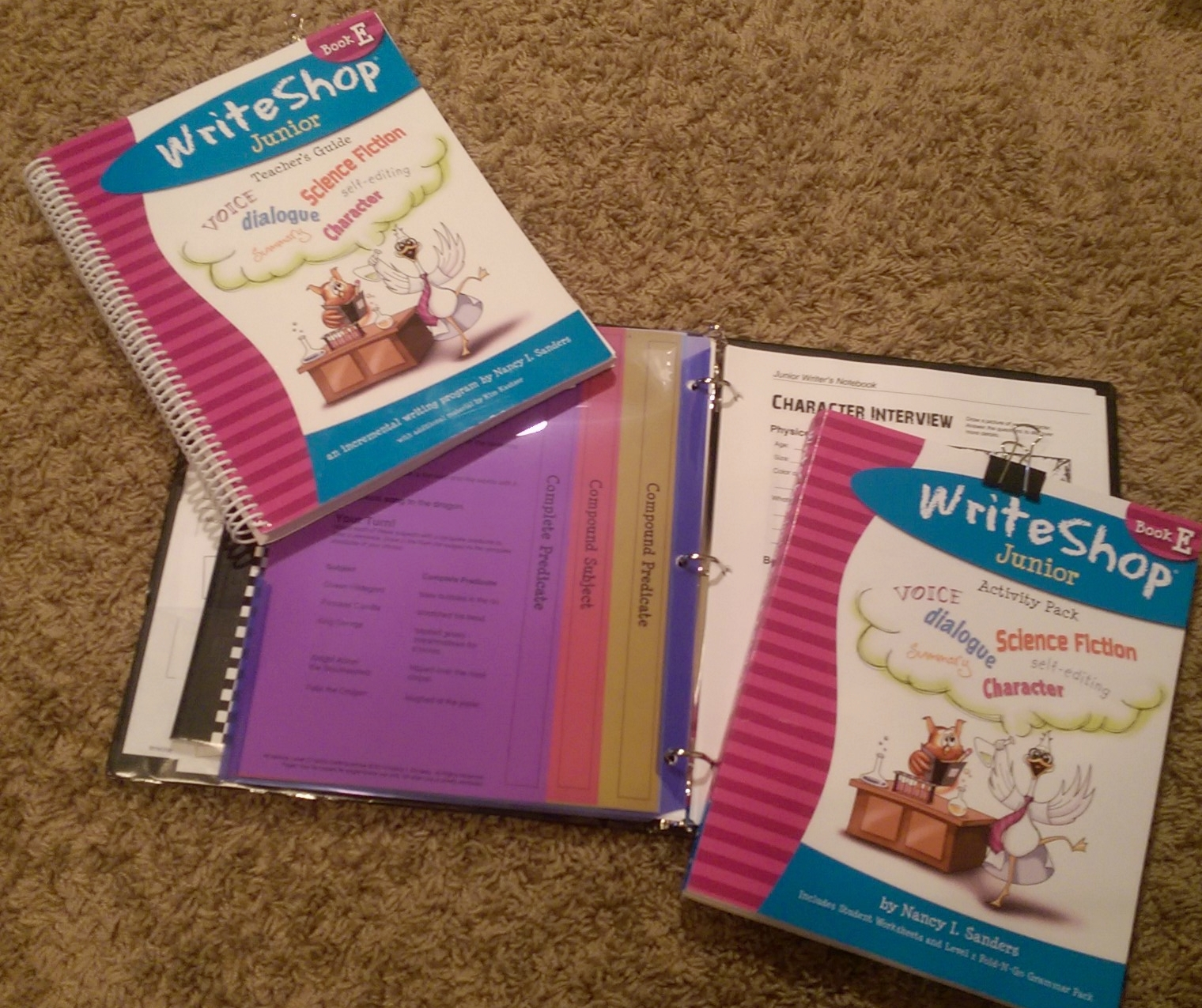 Homeschool writing program WriteShop Book E