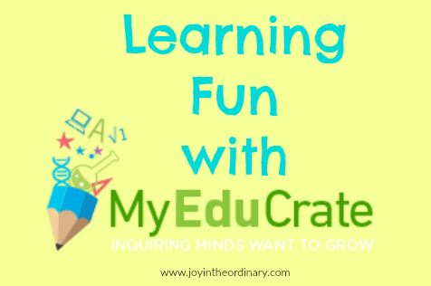 Learning fun with MyEduCrate