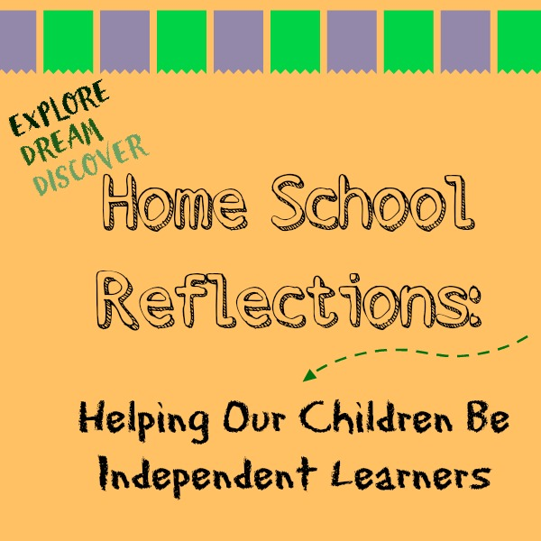Homeschool children are independent learners