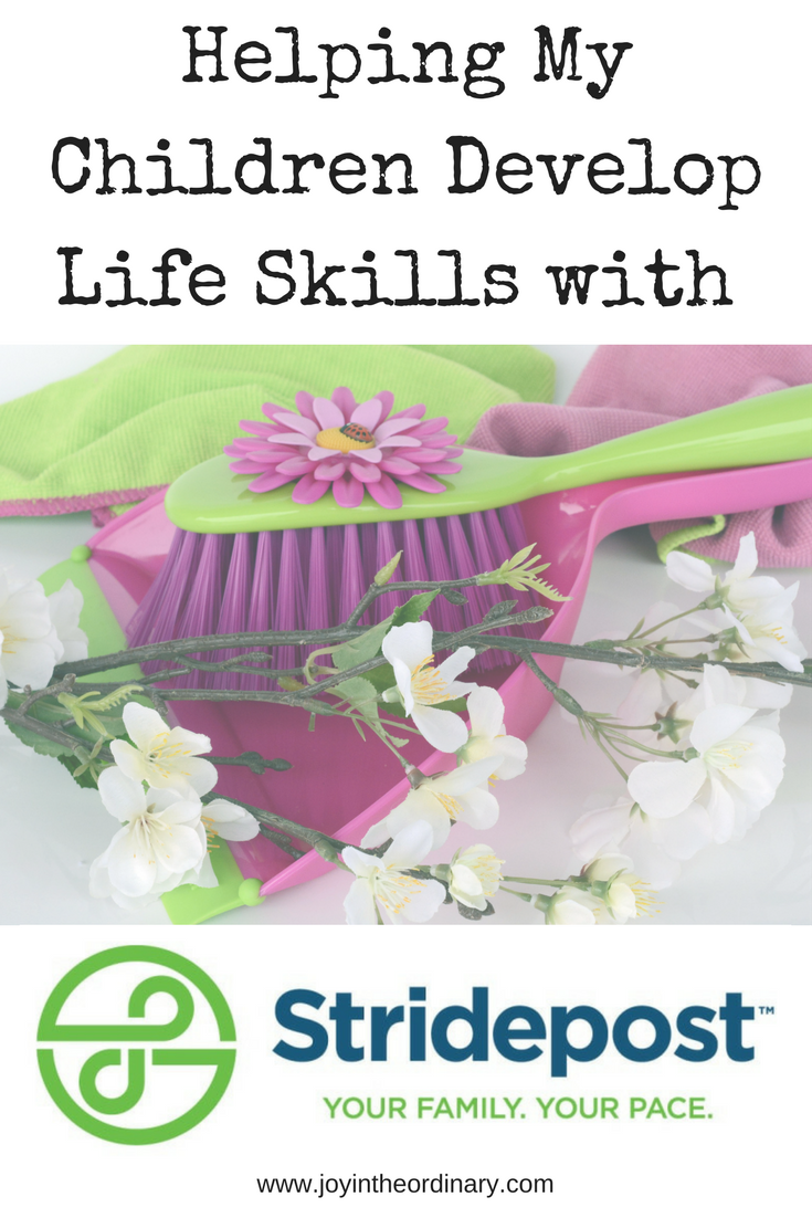 Using Stridepost App to help my daughters stay on track with life skills