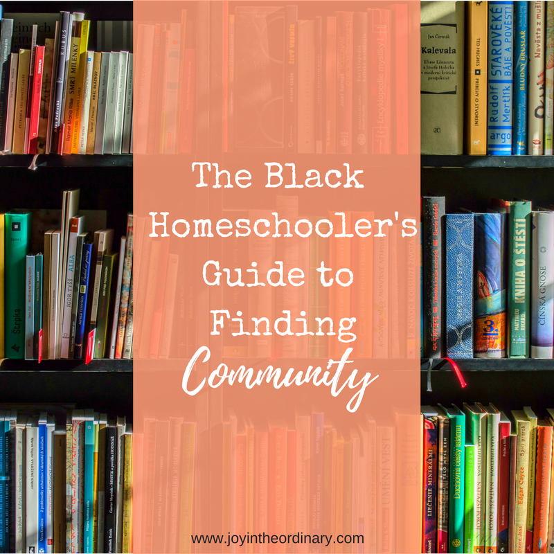 Finding Support in the Black Homeschooling Community