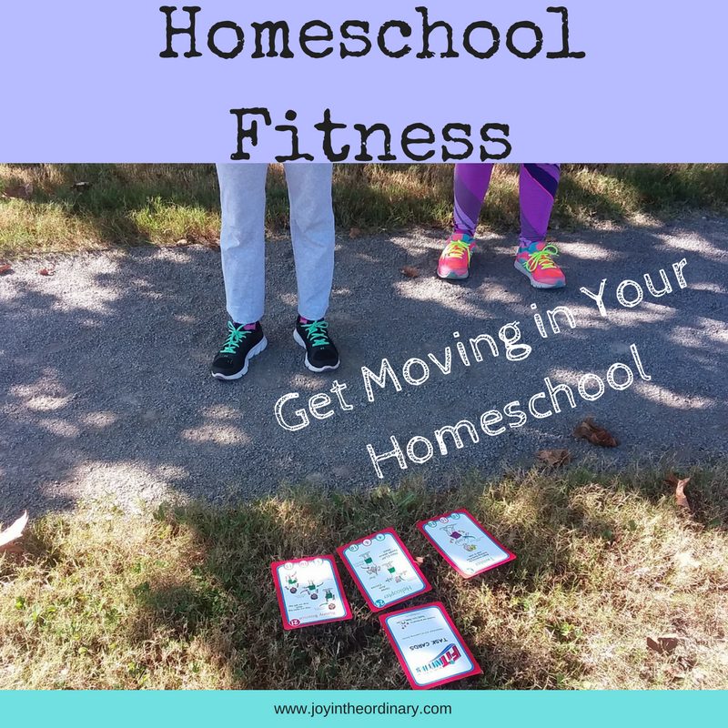 Paving the way to intentionally move each day. Incorporating regular physical activity in your homeschool schedule