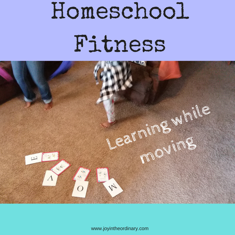 Exercising with Fitivities activity cards
