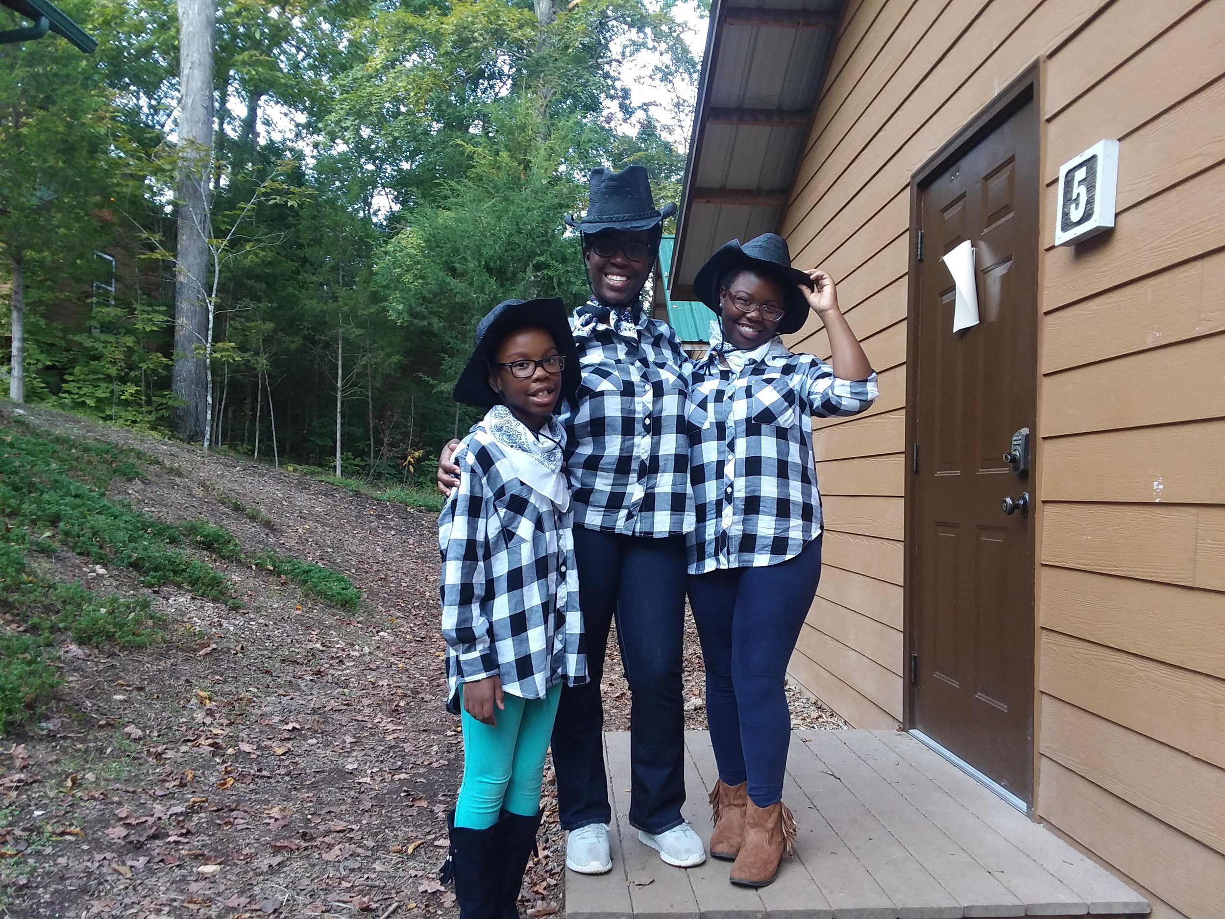 Western night at the Mother Daughter Retreat