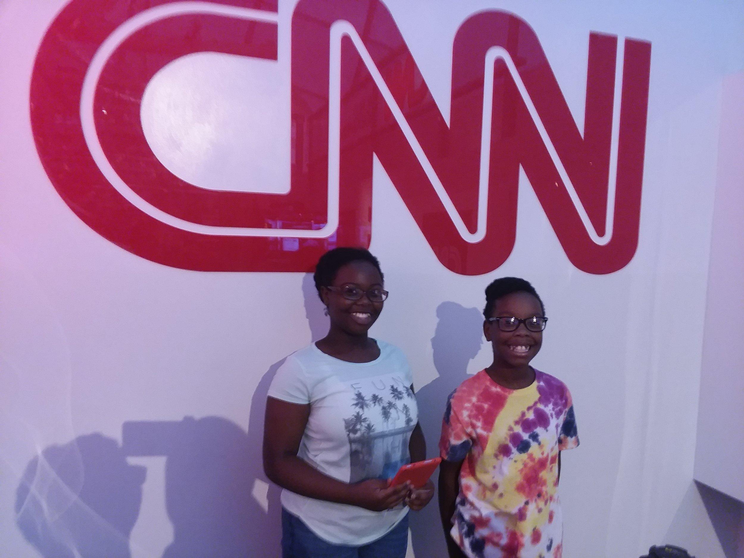 We toured CNN.
