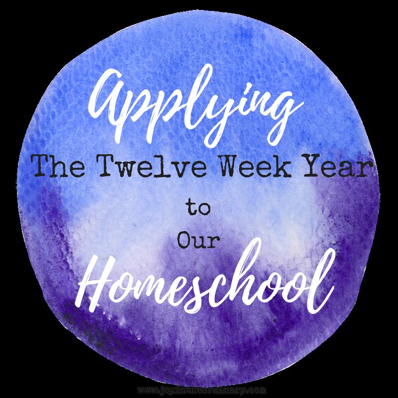 The 12 Week Year in Homeschool