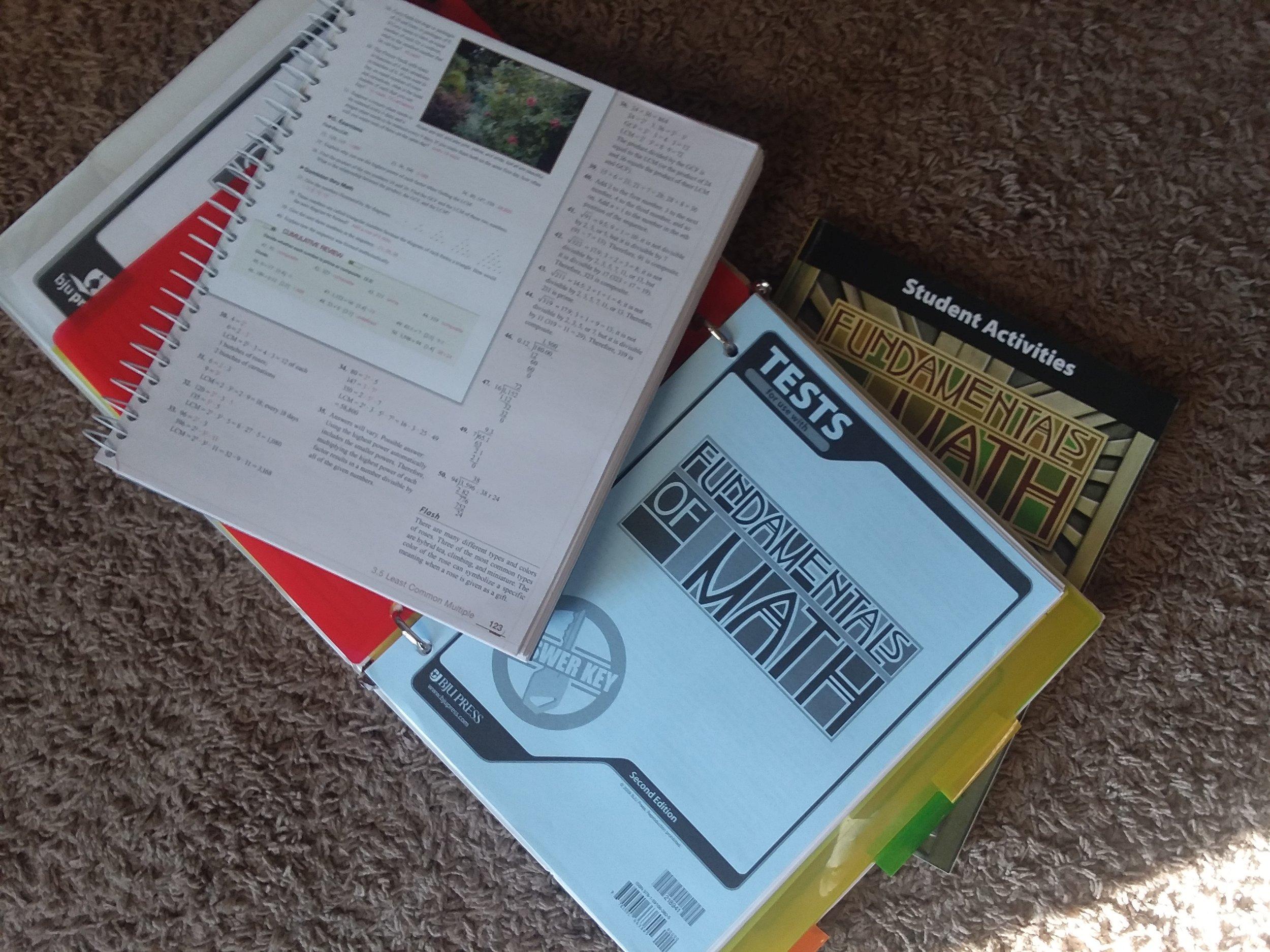 Bju Press Fundamentals of Math