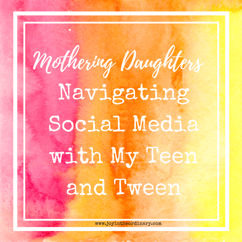 Navigating social media with my daughters
