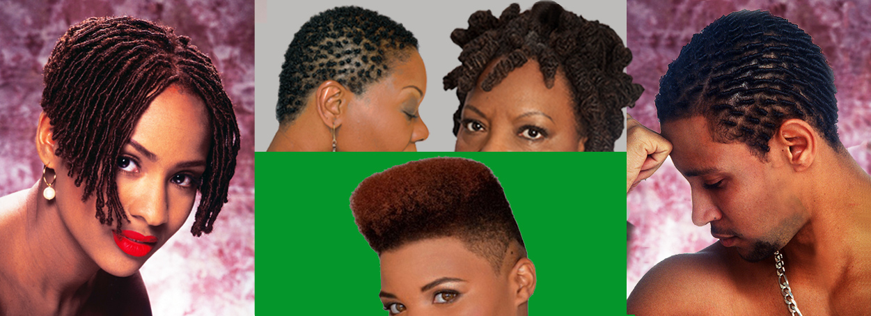 Photos courtesy of the Authentic Hair book