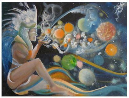 "Oil on Canvas Board, 14""x22"", 2016  Arizona"