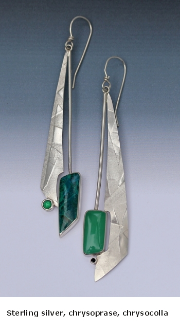 Long chyrsocolla chrysoprase earrings.jpg