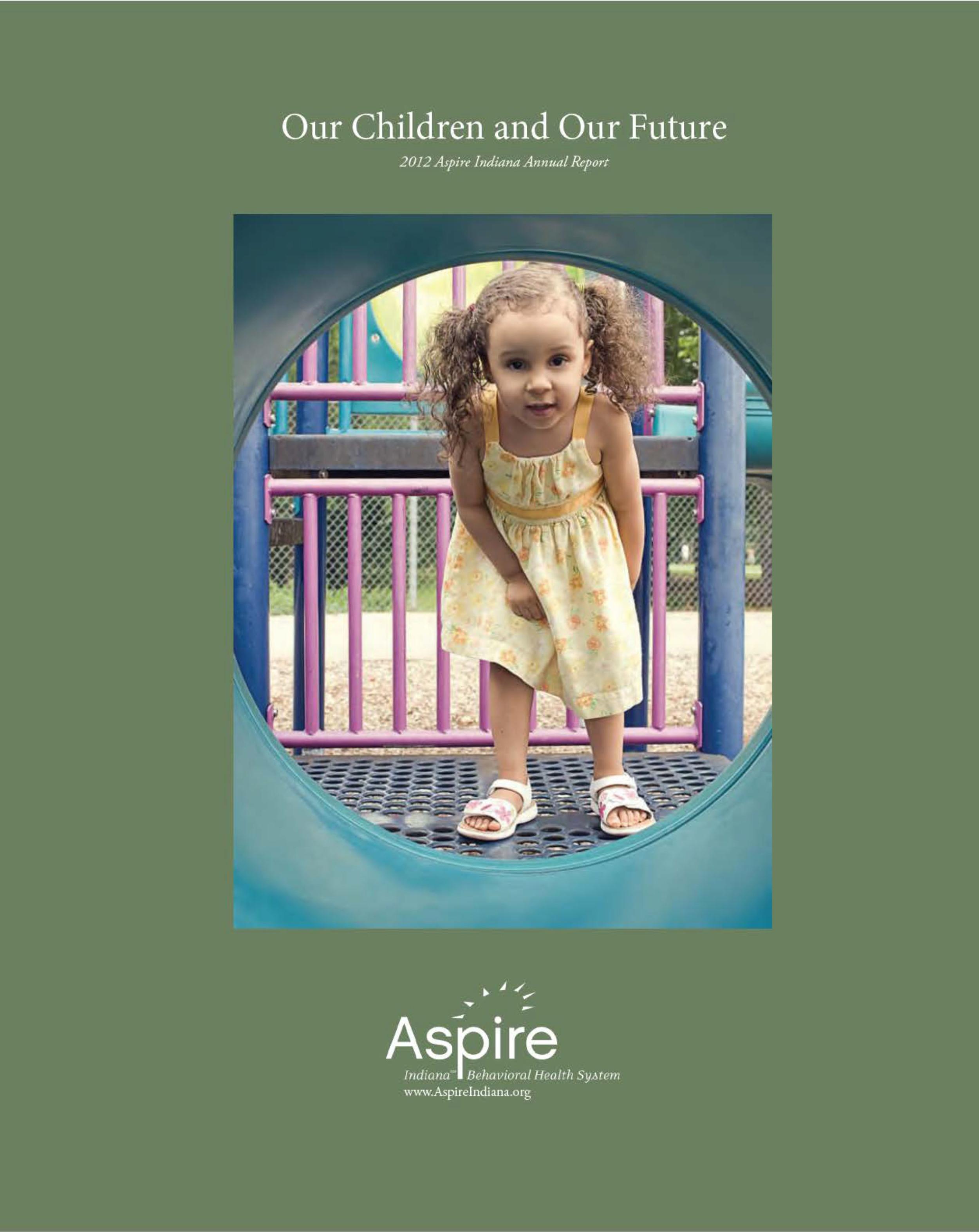 Aspire Indiana Annual Report 2012