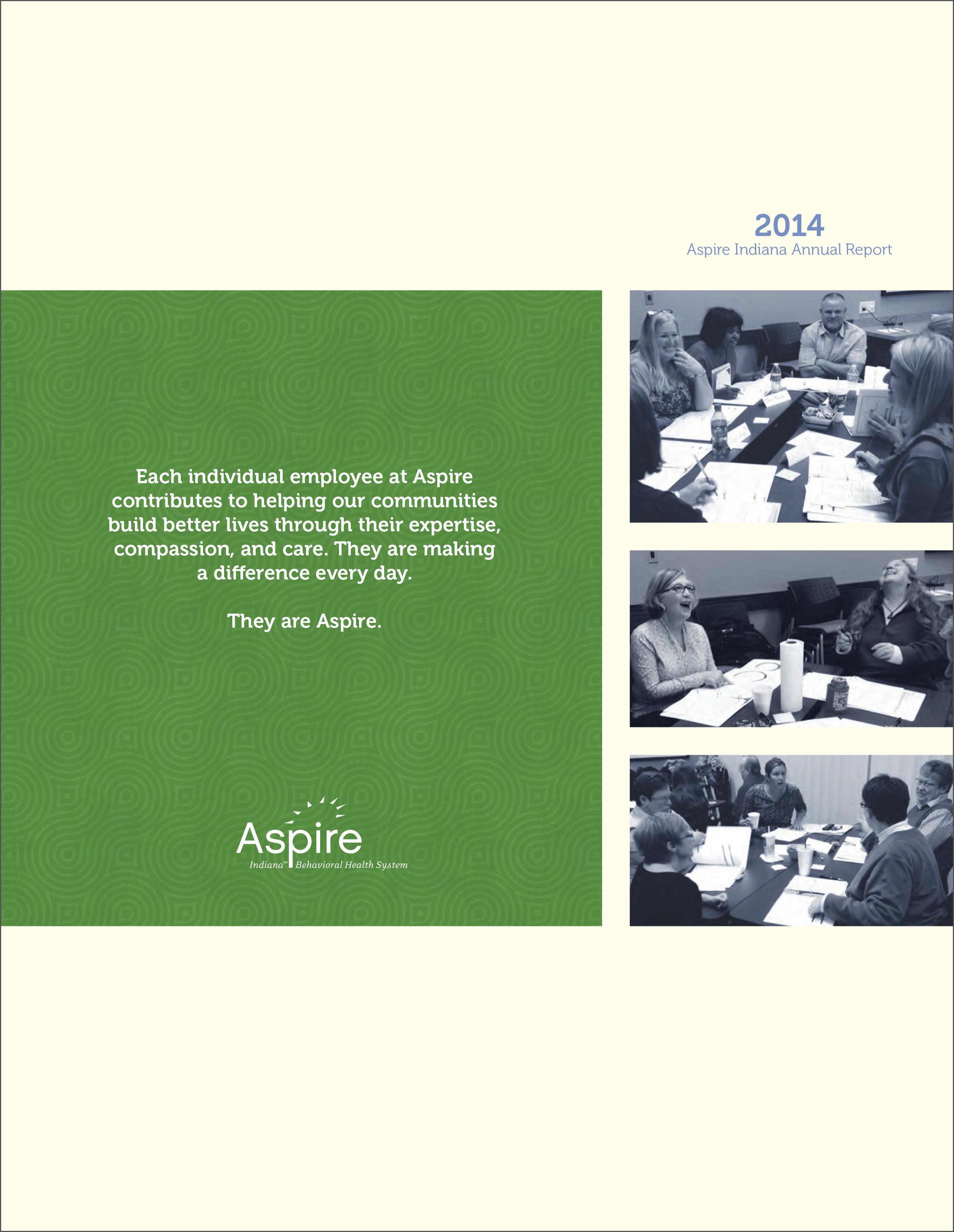 Aspire Indiana Annual Report 2014