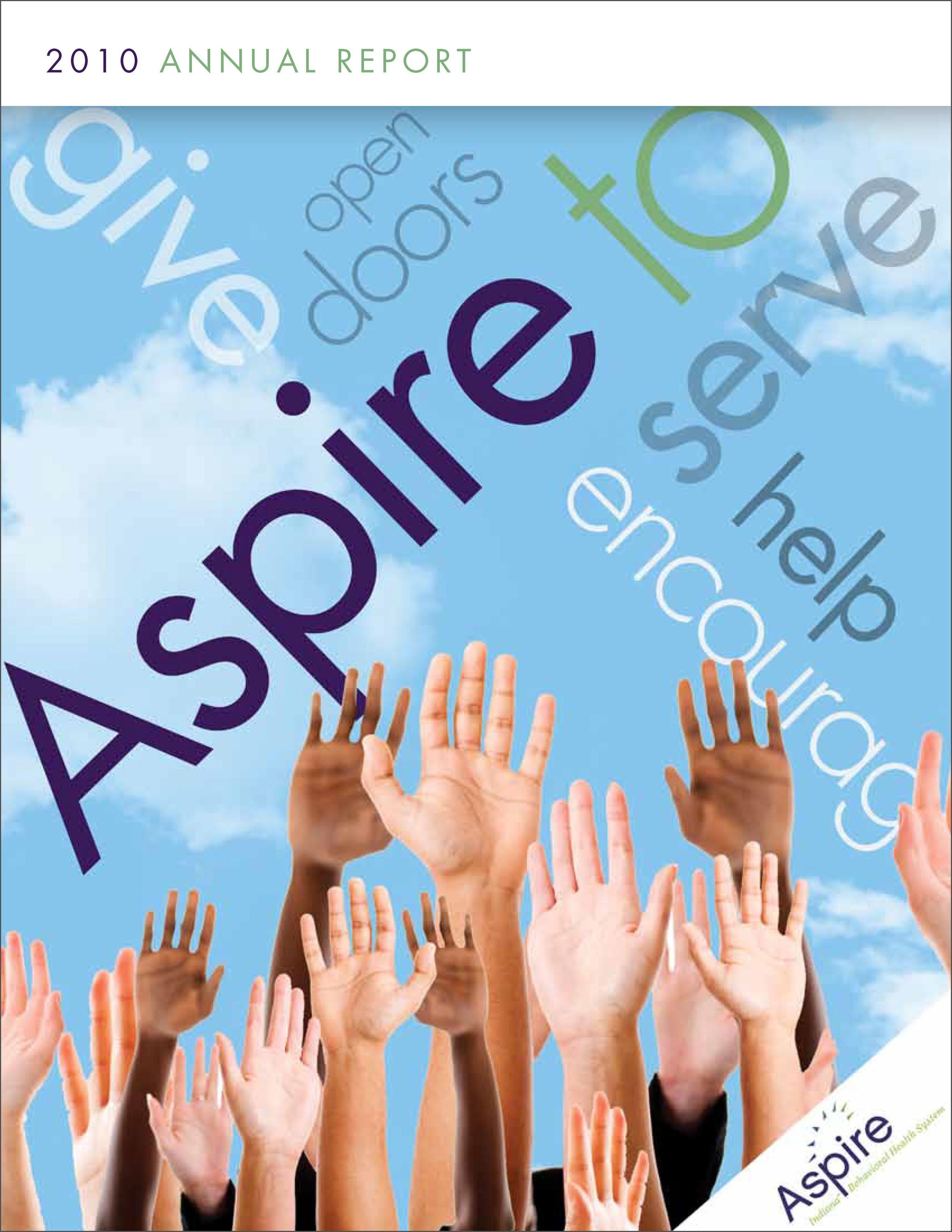 Aspire Indiana Annual Report 2010