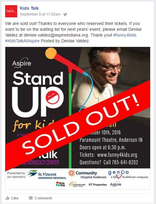 Aspire Kids Talk Facebook Page