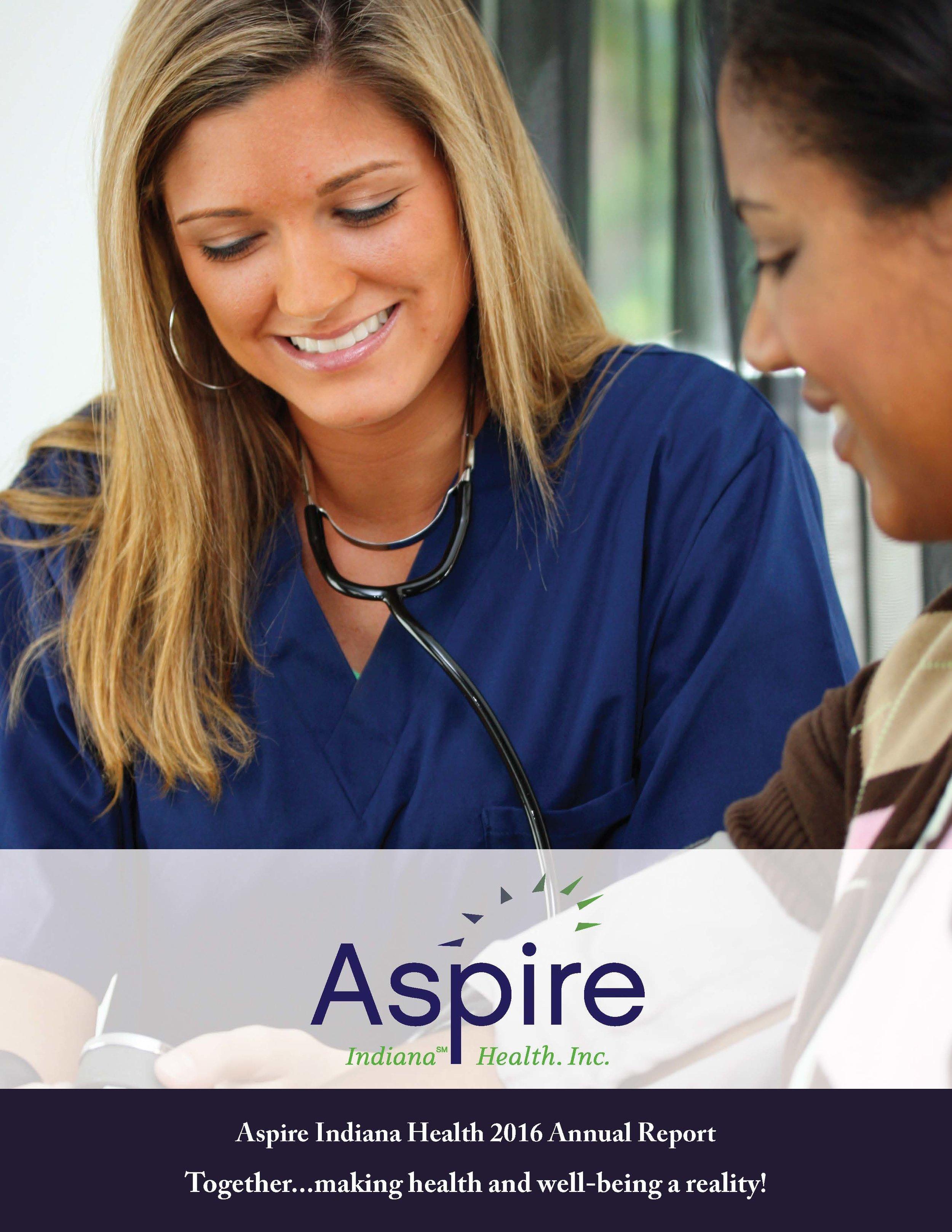 Aspire Indiana Health Annual Report 2016