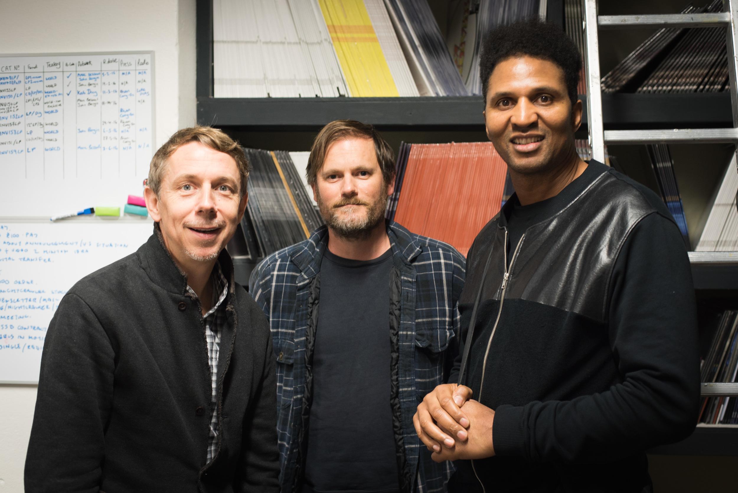 Peterson, Geoff Barrow (of Portishead), and DJ Krust