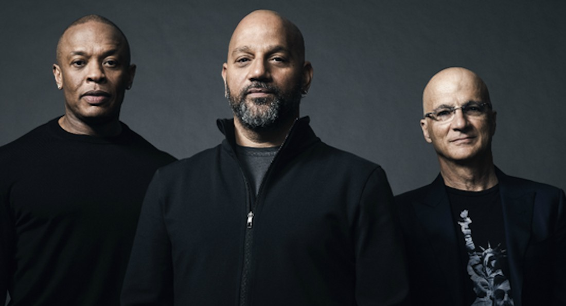 Pictured (L-R): Dr. Dre, Allen Hughes, and Jimmy Iovine