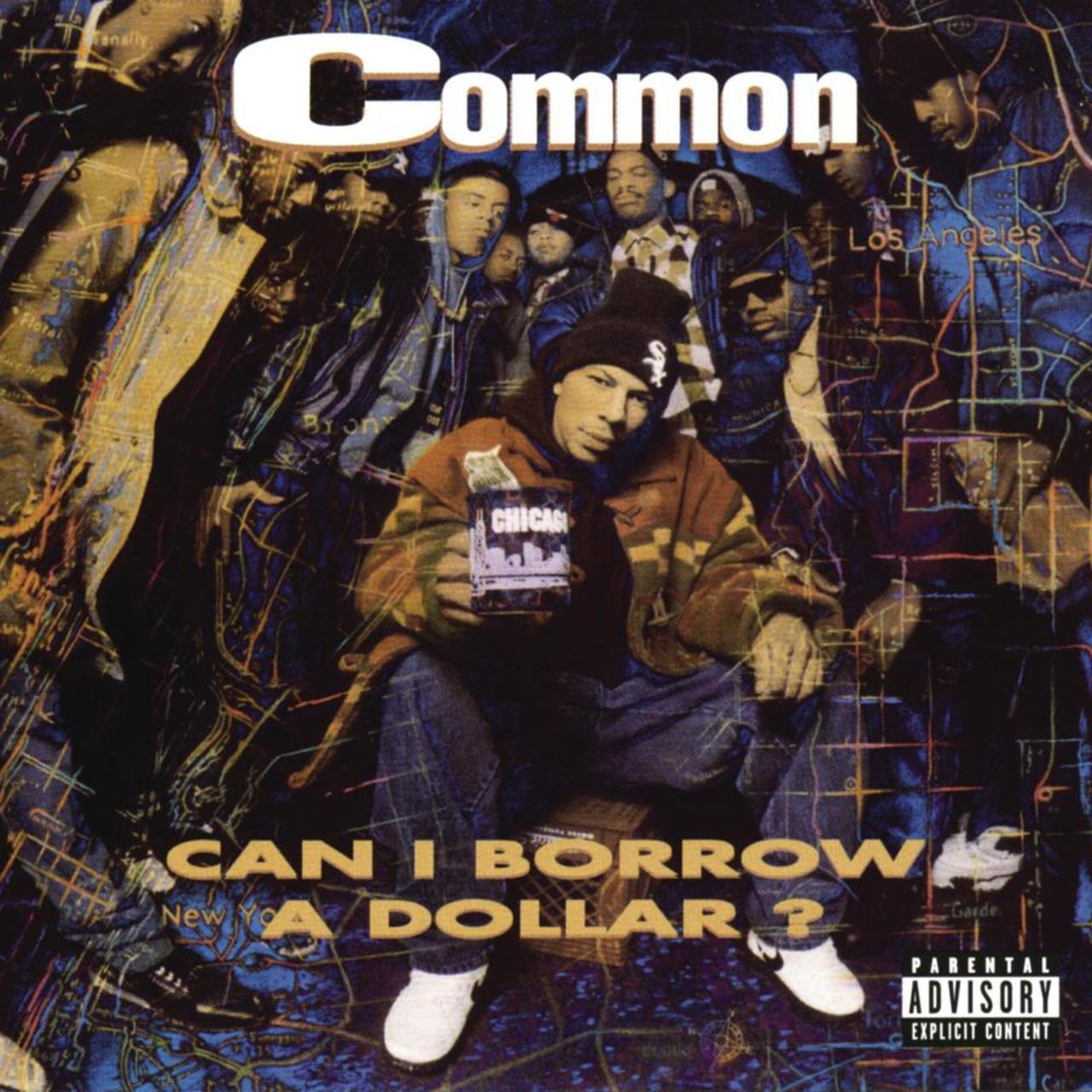 COMMON | 'Can I Borrow A Dollar?' 2xLP