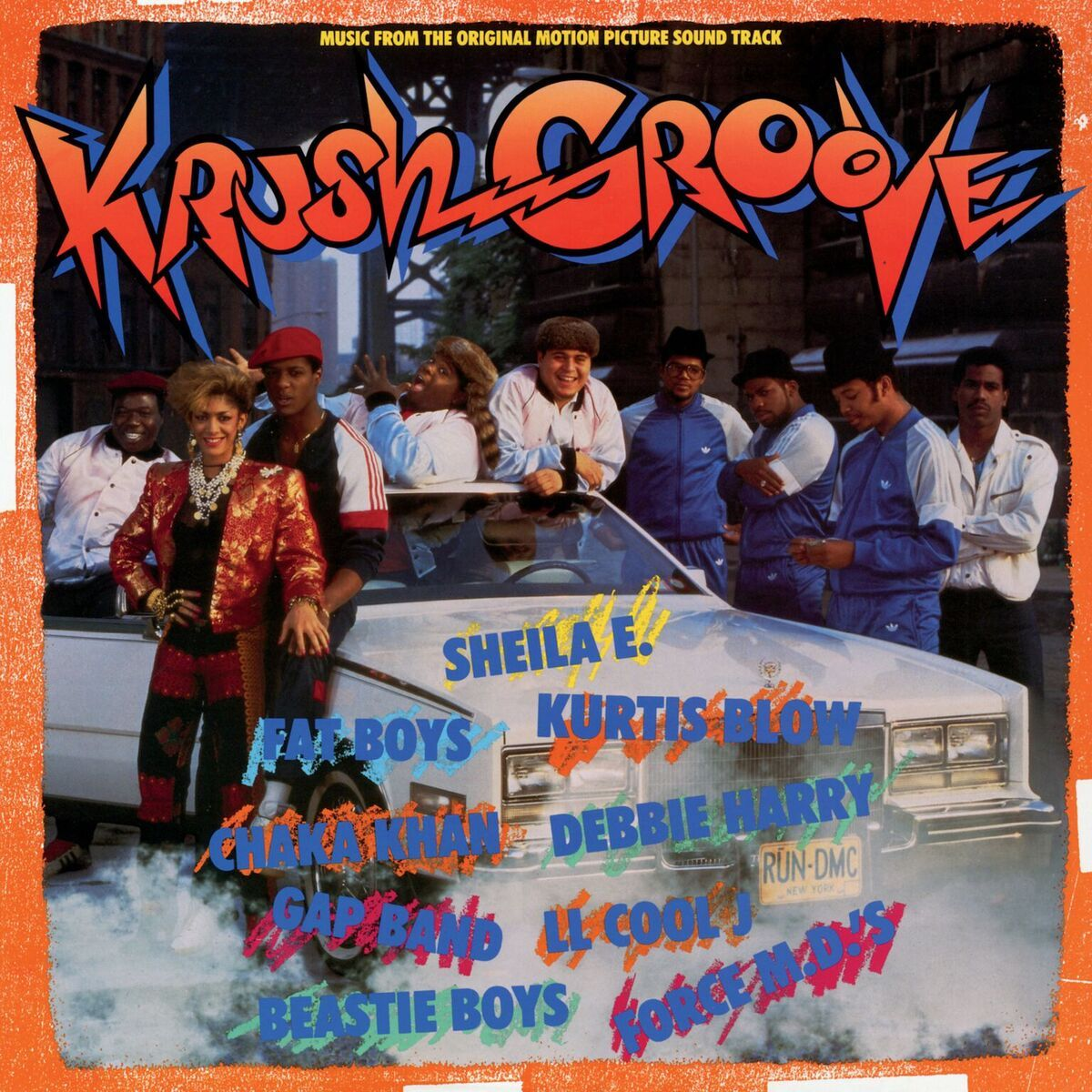 VARIOUS ARTISTS | 'Krush Groove' Original Soundtrack LP