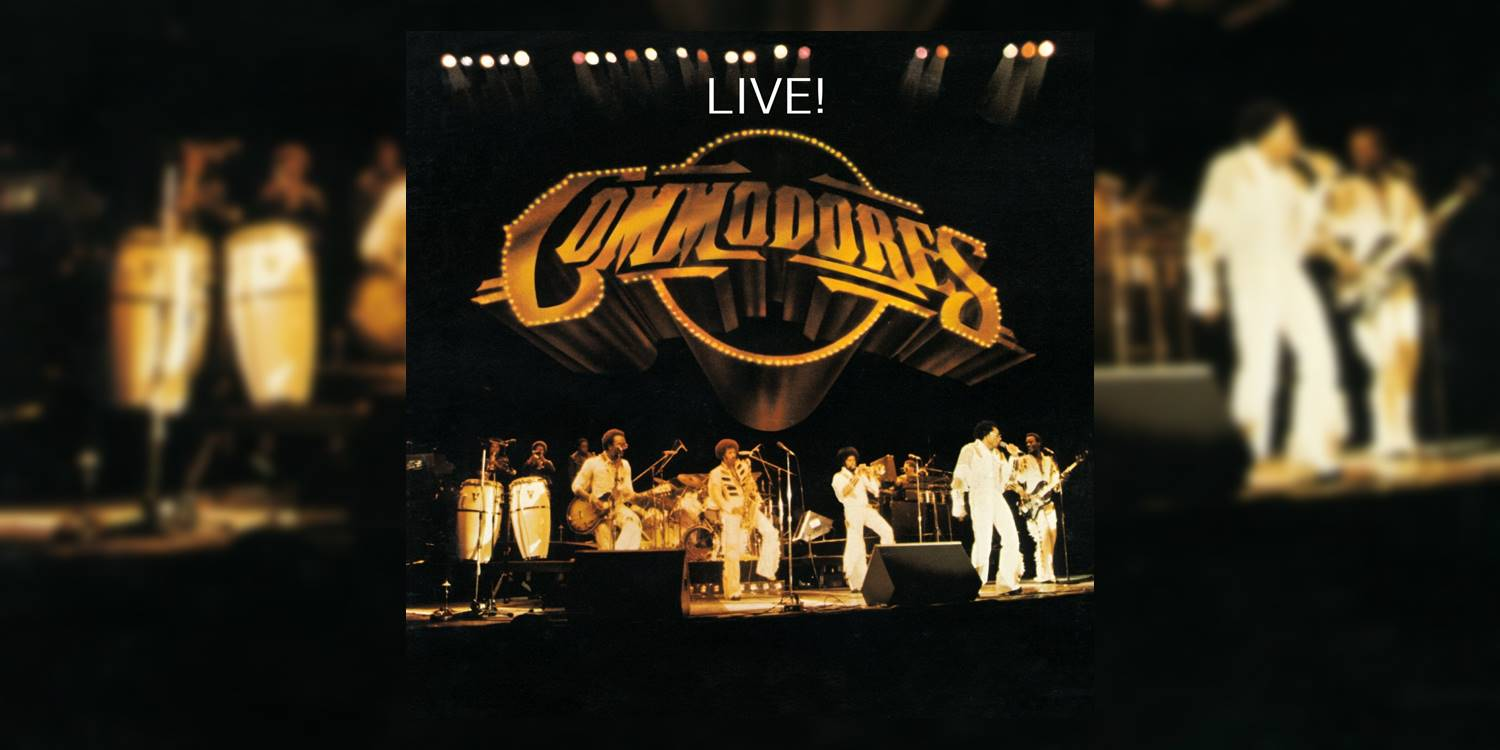 50 Greatest Live Albums of All Time: The Commodores' 'Commodores