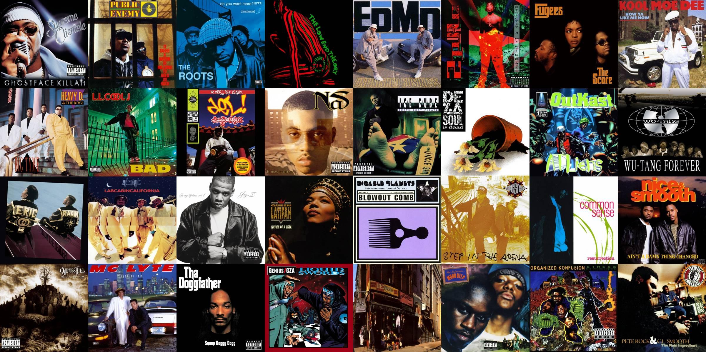 Albumism_HipHop_SecondAlbums_Poll_AlbumMosaic.jpg