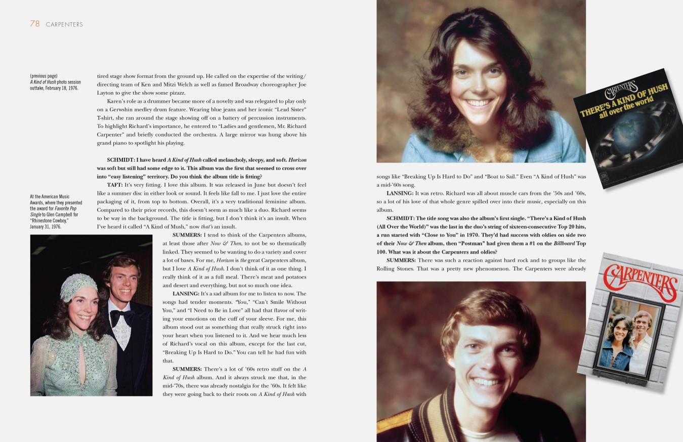 Excerpt from 'Carpenters: An Illustrated Discography'