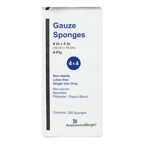 Gauze 4x4s - Sleeve