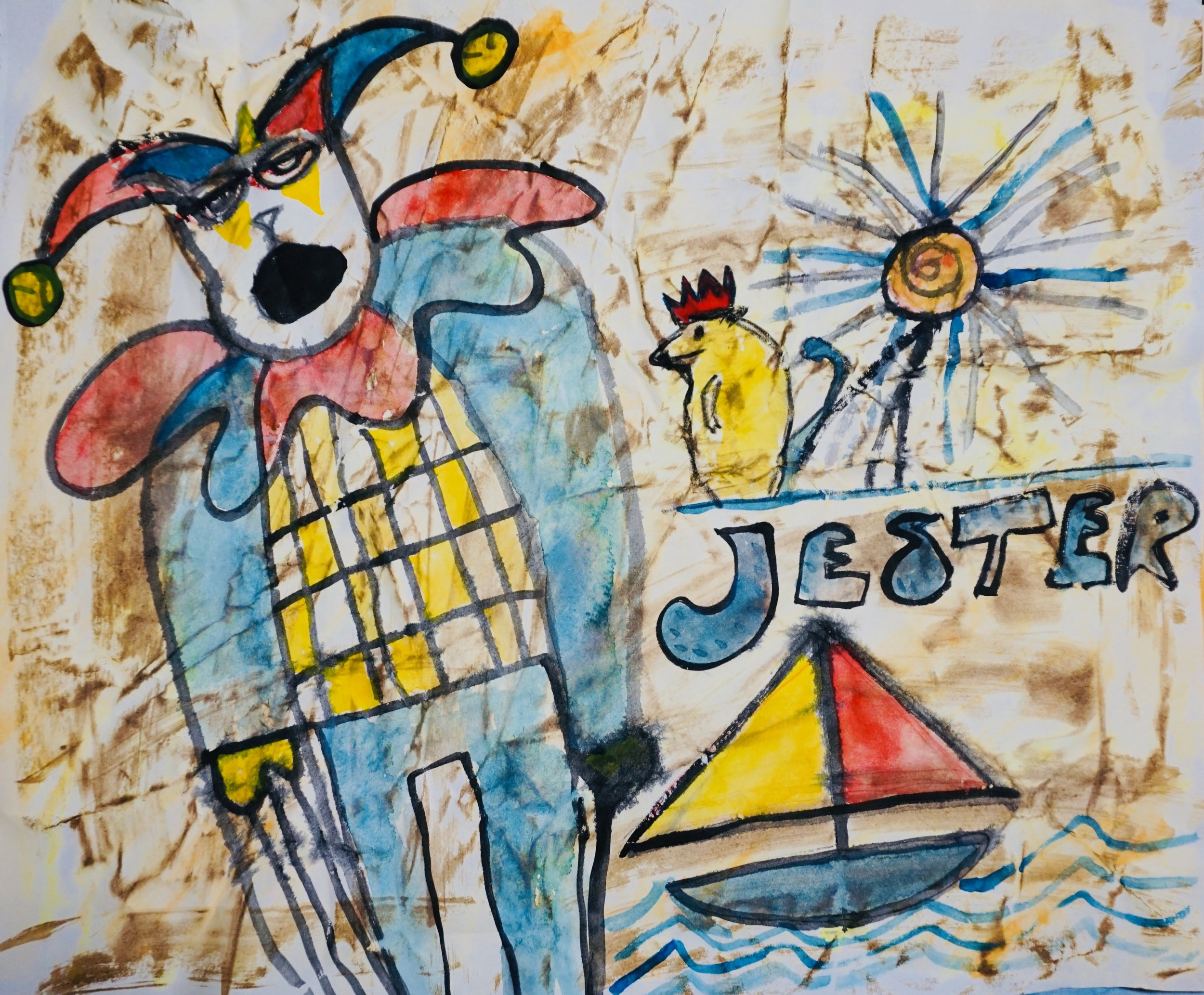 Jester by Kathryn Sturges