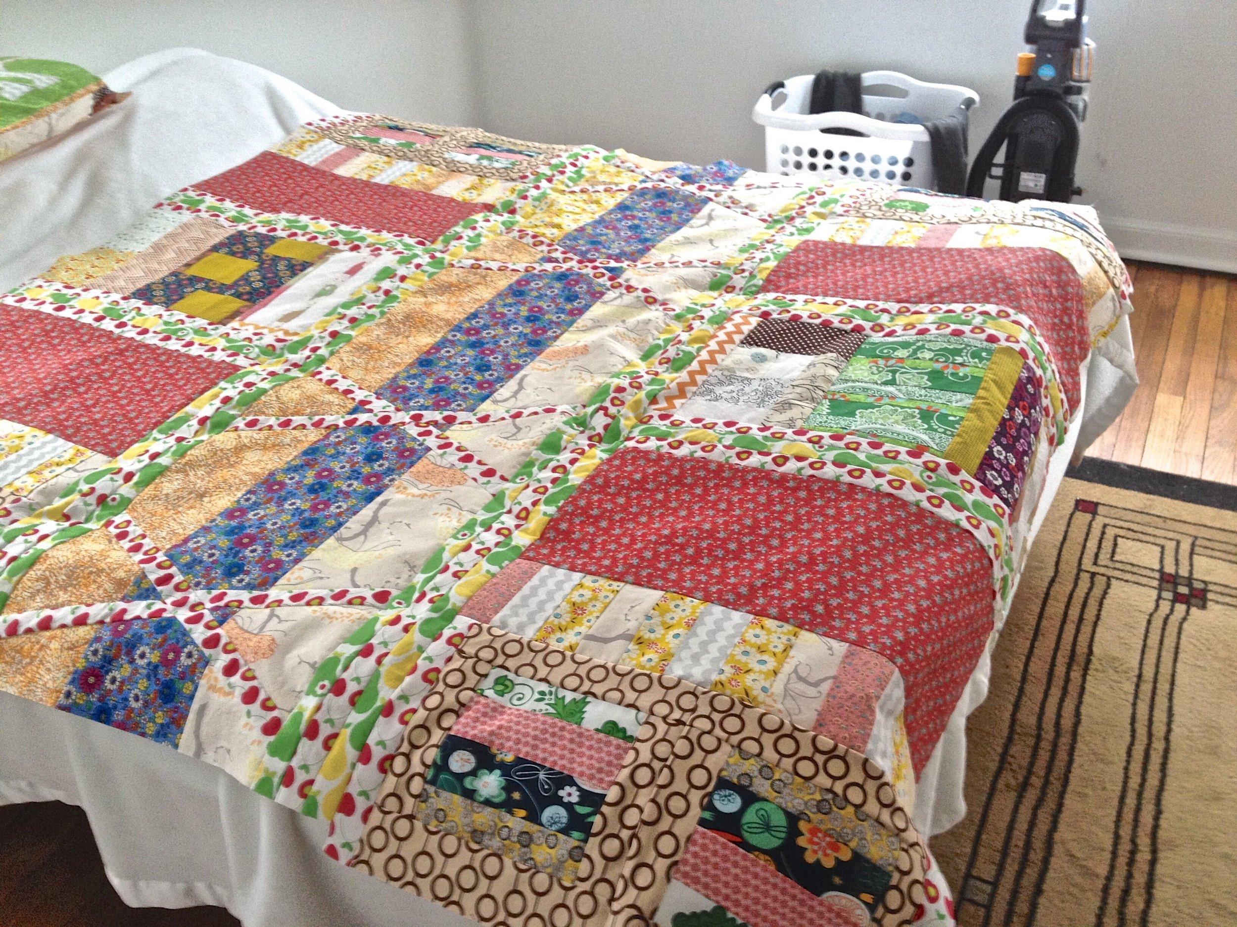 English Garden Quilt by Kathryn Sturges