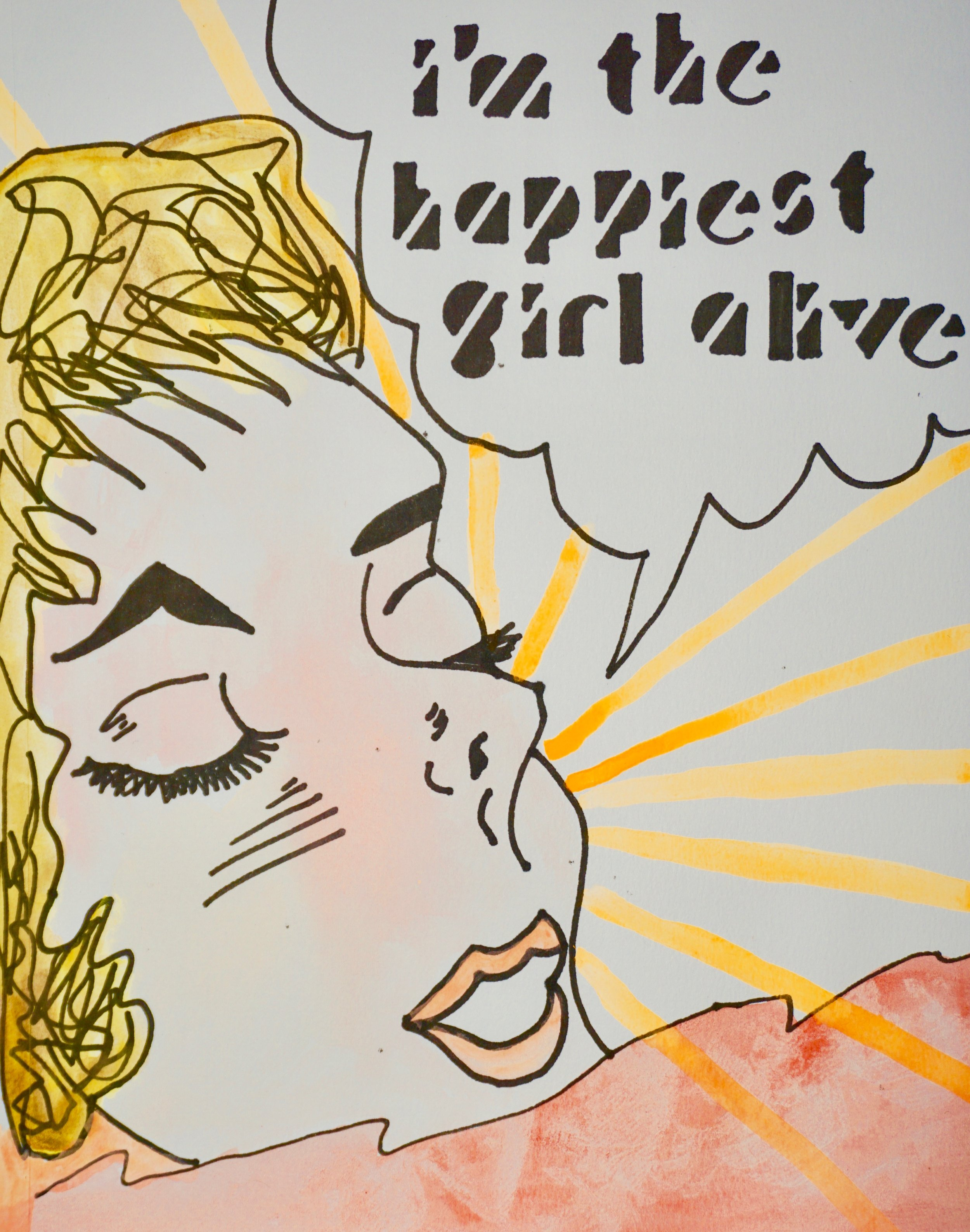 Happiest Girl Alive by Kathryn Sturges