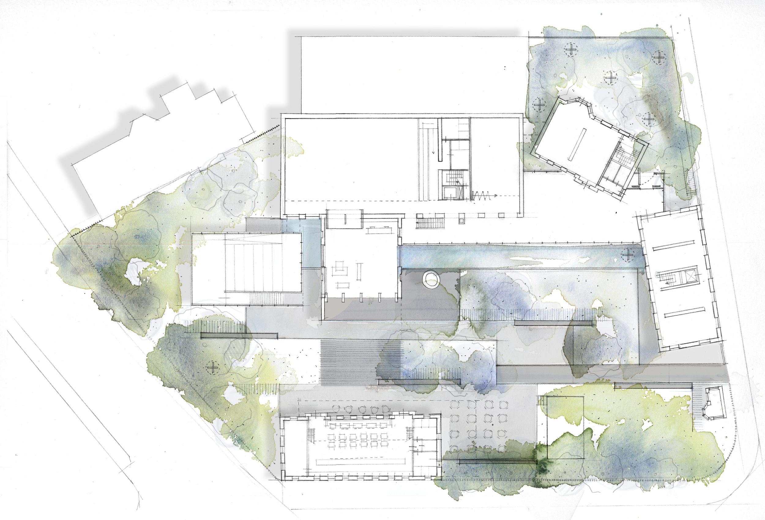 03Pumpehuset museum_floorplan ground floor pencil.jpg