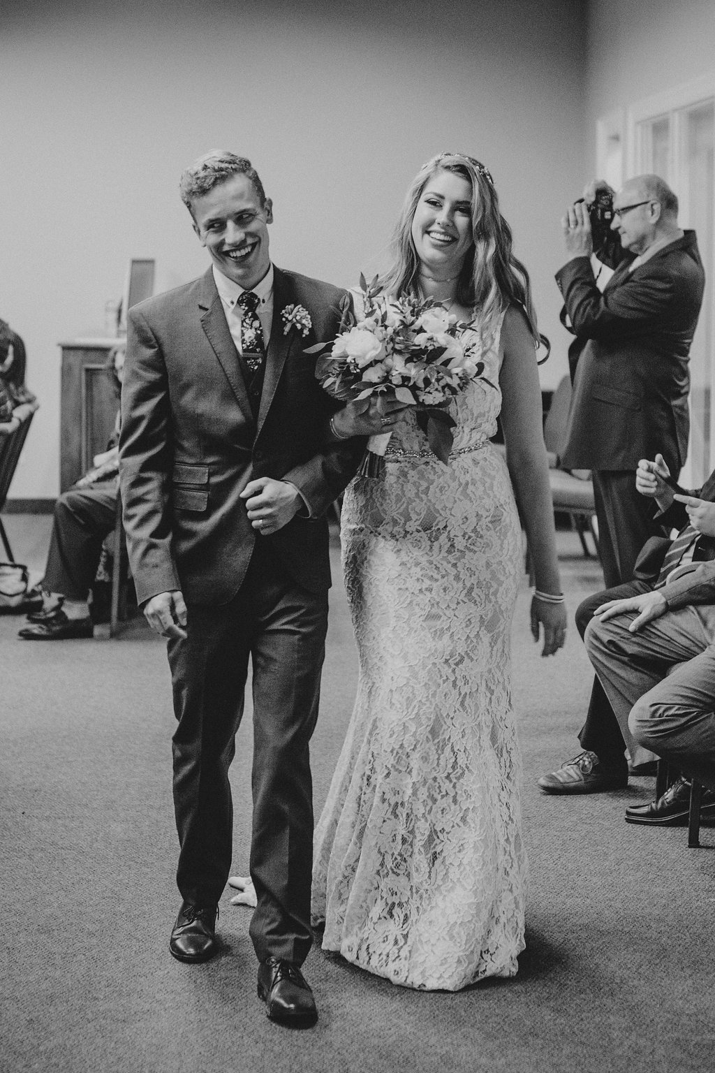 The happy Mr. and Mrs!