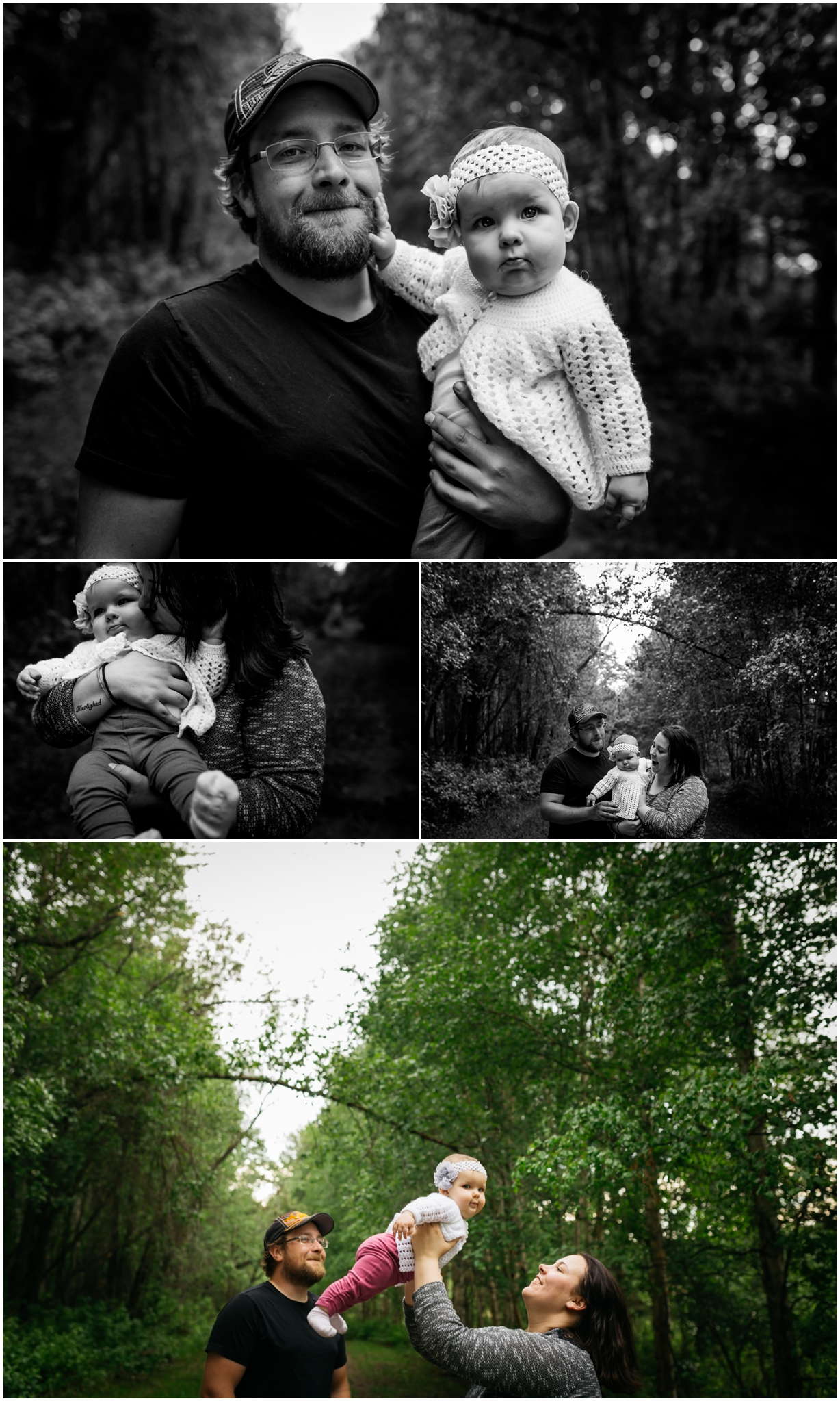 Edmonton baby and family photographer six month session best of 2016 may