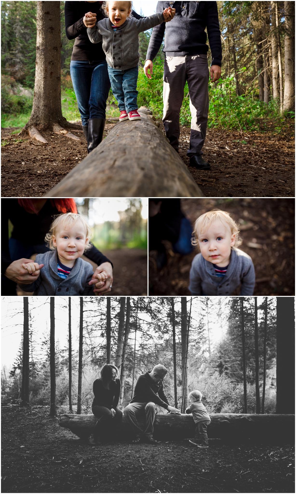 Edmonton family photographer best of 2016 September Mill Creek Ravine