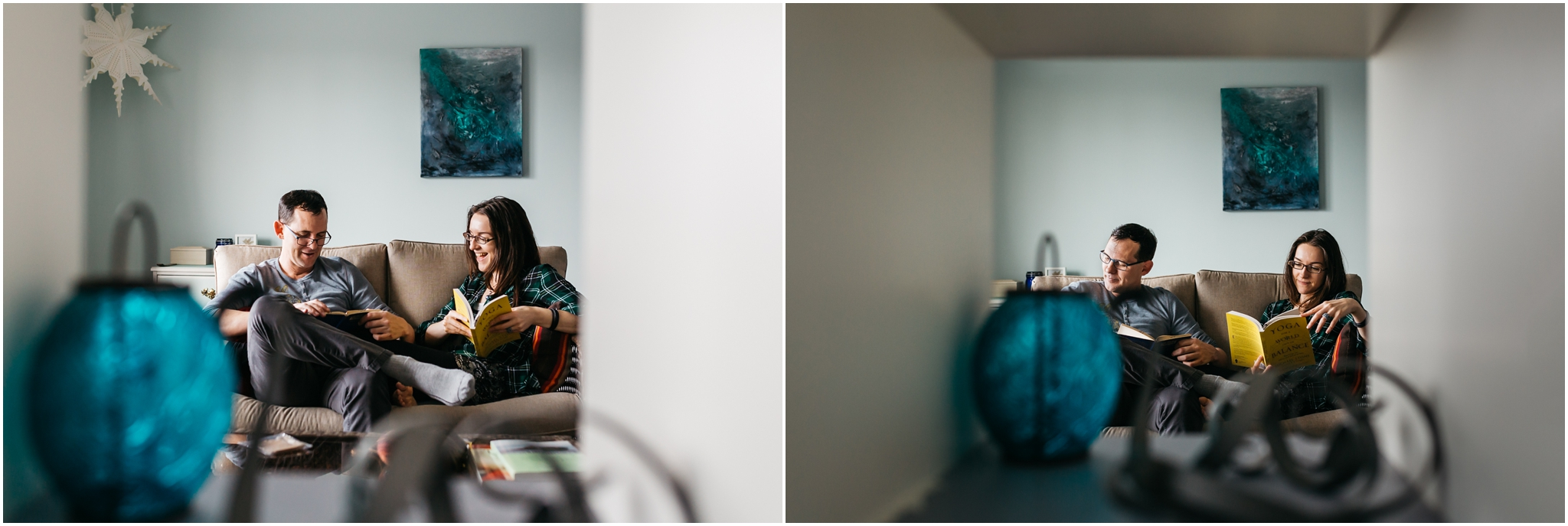 Edmonton couples engagement photographer In home sessions best of 2016 November
